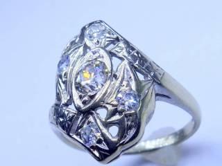 アンティーク指輪の商品番号1284ad