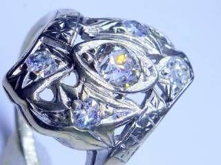 アンティーク指輪の商品番号1284af