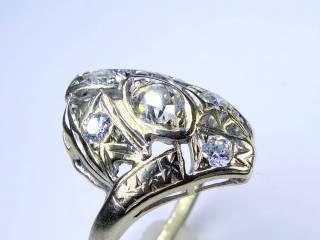 アンティーク指輪の商品番号1284ag