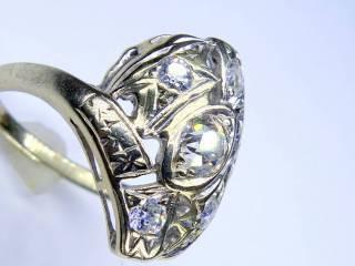 アンティーク指輪の商品番号1284ai