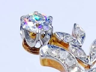 28石2種類のオールドカットダイヤ(鑑定書付)【商品番号4699】c