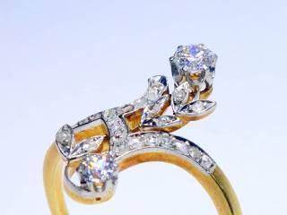 28石2種類のオールドカットダイヤ(鑑定書付)【商品番号4699】d