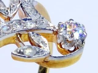 28石2種類のオールドカットダイヤ(鑑定書付)【商品番号4699】f