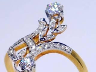 28石2種類のオールドカットダイヤ(鑑定書付)【商品番号4699】i