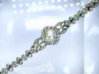 約2.7ctの2種のローズカットダイヤ使用(鑑定書付)【商品番号4607】d