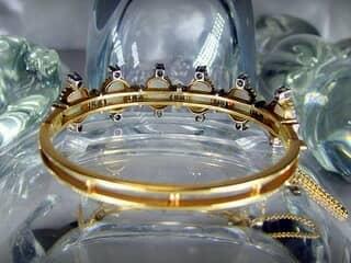 約3.5ctオールドカットダイヤとオパール約10ct(鑑定書付)【商品番号4611】j