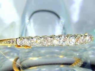 約4ct2種のオールドカットダイヤ使用(鑑定書付)【商品番号4690】g