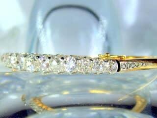 約4ct2種のオールドカットダイヤ使用(鑑定書付)【商品番号4690】h