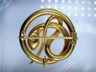 蛇モチーフ&オールドヨーロピアンカットダイヤ【商品番号1203A】j