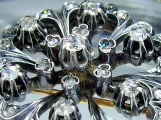 42石,2種のオールドカットダイヤ(鑑定書付)【商品番号2608】f