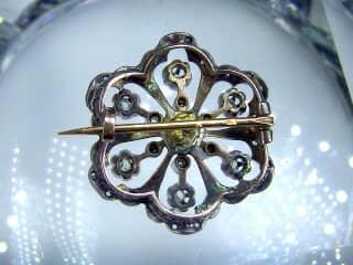 42石,2種のオールドカットダイヤ(鑑定書付)【商品番号2608】h