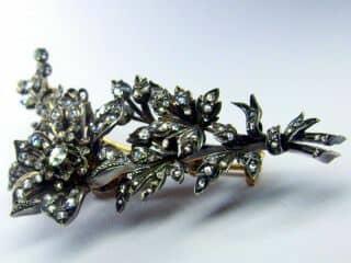 トレンブラン,3種のオールドカットダイヤ(鑑定書付)【商品番号b07】c