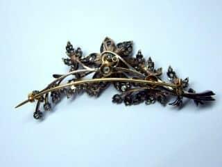 トレンブラン,3種のオールドカットダイヤ(鑑定書付)【商品番号b07】e
