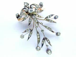 3種のオールドカットダイヤ使用(鑑定書付)【商品番号b12】d