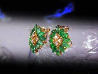 約3ctエメラルドとダイヤ【商品番号1112a】c