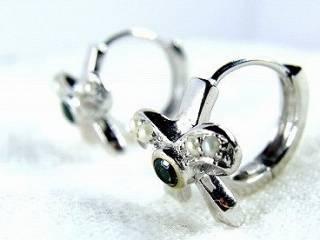 トルマリン2石と真珠8粒【商品番号220d】d