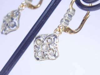 24石のローズカットダイヤ【商品番号E34】b