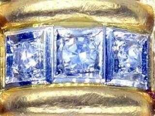 3石ダイヤ使用,18wg&yg【商品番号1109a】c