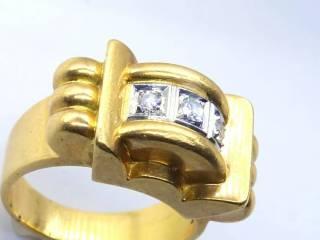 3石ダイヤ使用,18wg&yg【商品番号1109a】d