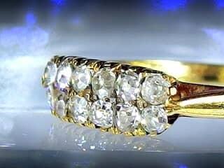 12石オールドマインカットダイヤ【商品番号1135A】d