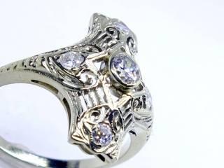 2種のダイヤ(オールドヨーロピアン)【商品番号1168a】c