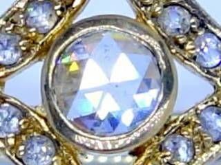 25石ローズカットダイヤ【商品番号1184A】c