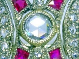 約0.33ctダイヤと約0.16ctカリブレルビー【商品番号1208A】c