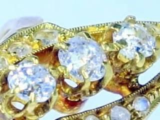 15石2種のオールドカットダイヤ【商品番号1247A】c