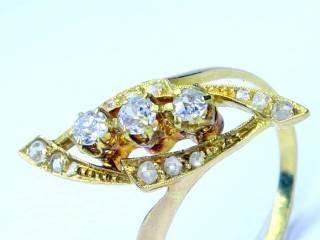 15石2種のオールドカットダイヤ【商品番号1247A】d