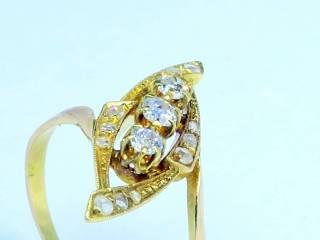 15石2種のオールドカットダイヤ【商品番号1247A】e
