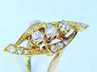 15石2種のオールドカットダイヤ【商品番号1247A】g
