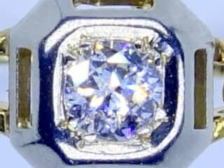 オールドヨーロピアンカットダイヤとフィリグリー【商品番号1329a】c
