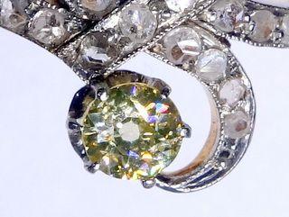 2種のオールドカットダイヤと真珠【商品番号1353A】c