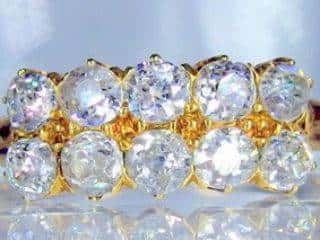 10石のオールドマインカットダイヤ【商品番号1361a】c