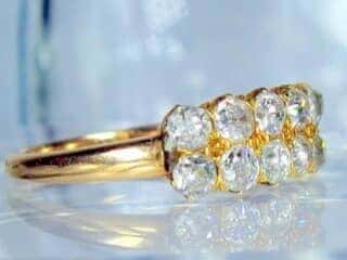 10石のオールドマインカットダイヤ【商品番号1361a】f