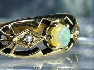 アンティークジュエリー 指輪170dc