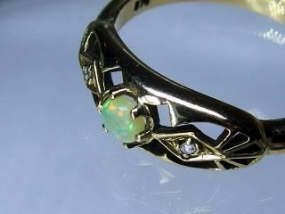 アンティークジュエリー 指輪170dg