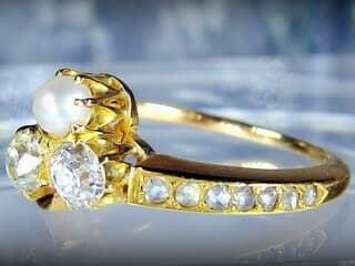 アンティークジュエリー指輪の商品番号2573f