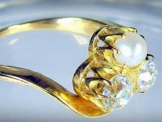 アンティークジュエリー指輪の商品番号2573h