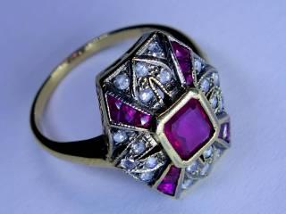 アンティーク指輪の商品番号2627c