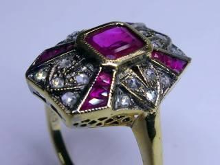 アンティーク指輪の商品番号2627d