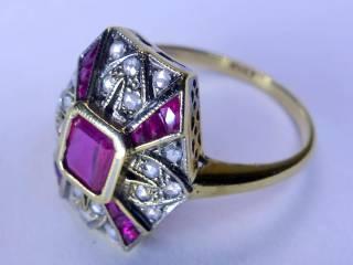 アンティーク指輪の商品番号2627f