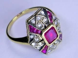 アンティーク指輪の商品番号2627i