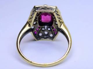 アンティーク指輪の商品番号2627j