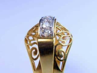 アンティーク指輪の商品番号2639f