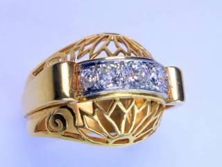 アンティーク指輪の商品番号2639g