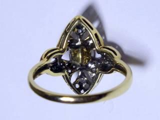 約0.75ct2種のオールドカットダイヤ(鑑定書付)【商品番号3353】j