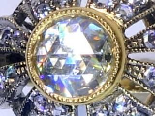 約1.4ct2種のオールドカットダイヤ(鑑定書付)【商品番号4635】c