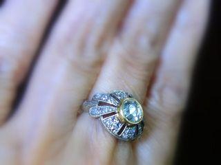 約1.4ct2種のオールドカットダイヤ(鑑定書付)【商品番号4635】e