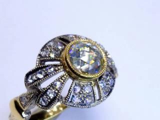 約1.4ct2種のオールドカットダイヤ(鑑定書付)【商品番号4635】i
